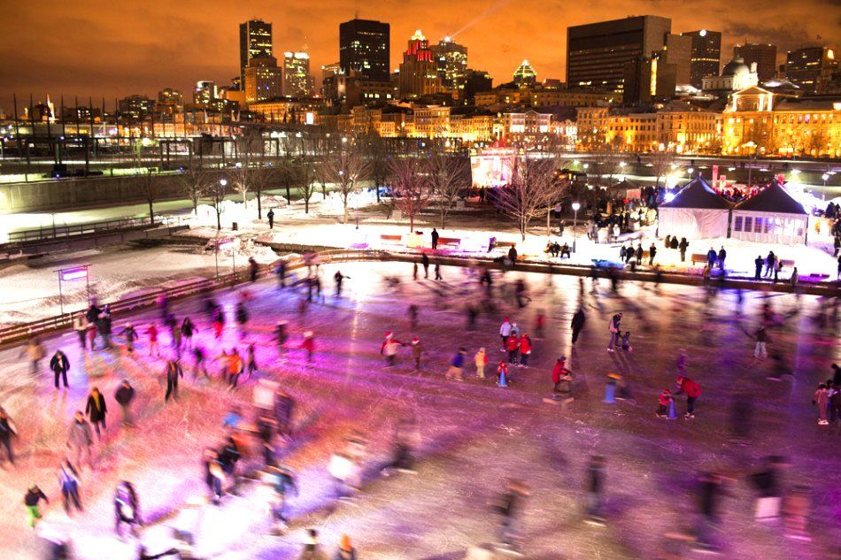 All Montreal Ice Rinks Are Closed Until Further Notice